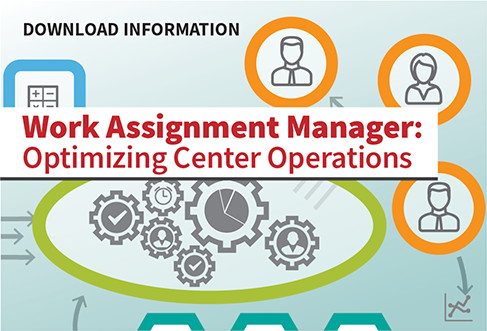 Download Information: Work Assignment Manager: Optimizing Center Operations